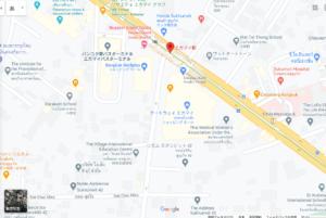 エカマイ駅周辺の地図